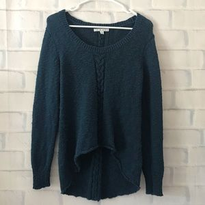 CAbi | cable knit pullover sweater